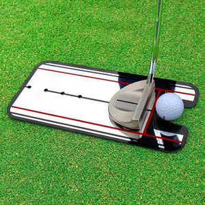 True Putt™ Pro Putting Alignment Mirror - Easier Golfing