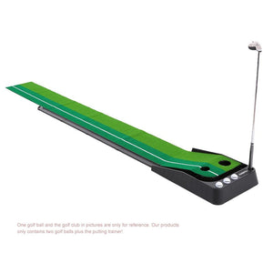 Indoor Putting Trainer Gravity Return - Easier Golfing