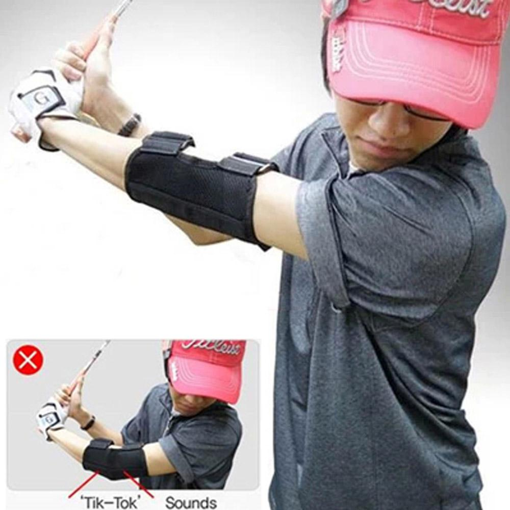 Straight Elbow Perfect Swing Training Aid - Easier Golfing