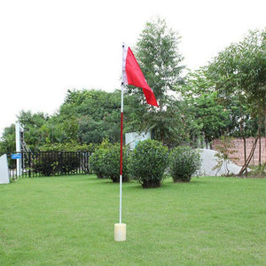 Red Golf Flag for Backyard Practice