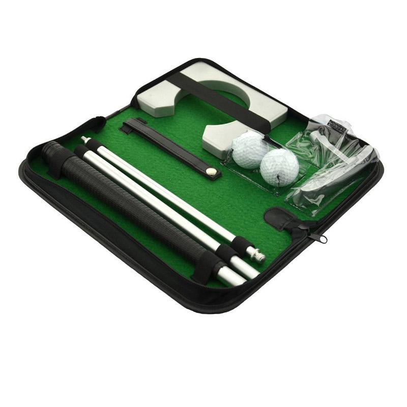 Deluxe Portable Putting Practice Set - Easier Golfing