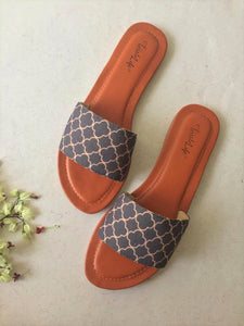 Arabic Pattern Sliders - The Tassle Life