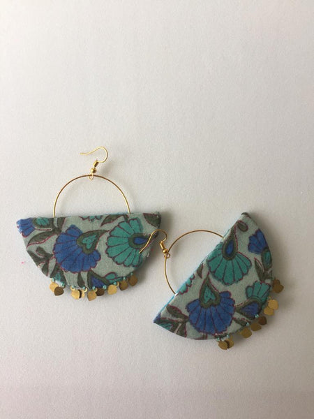 Floral Earrings - The Tassle Life