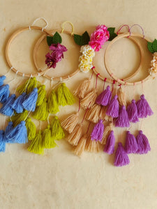 Floral Dreamcatcher (Set of 4)