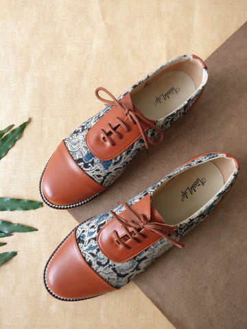 Oxfords - Kalamkari Print