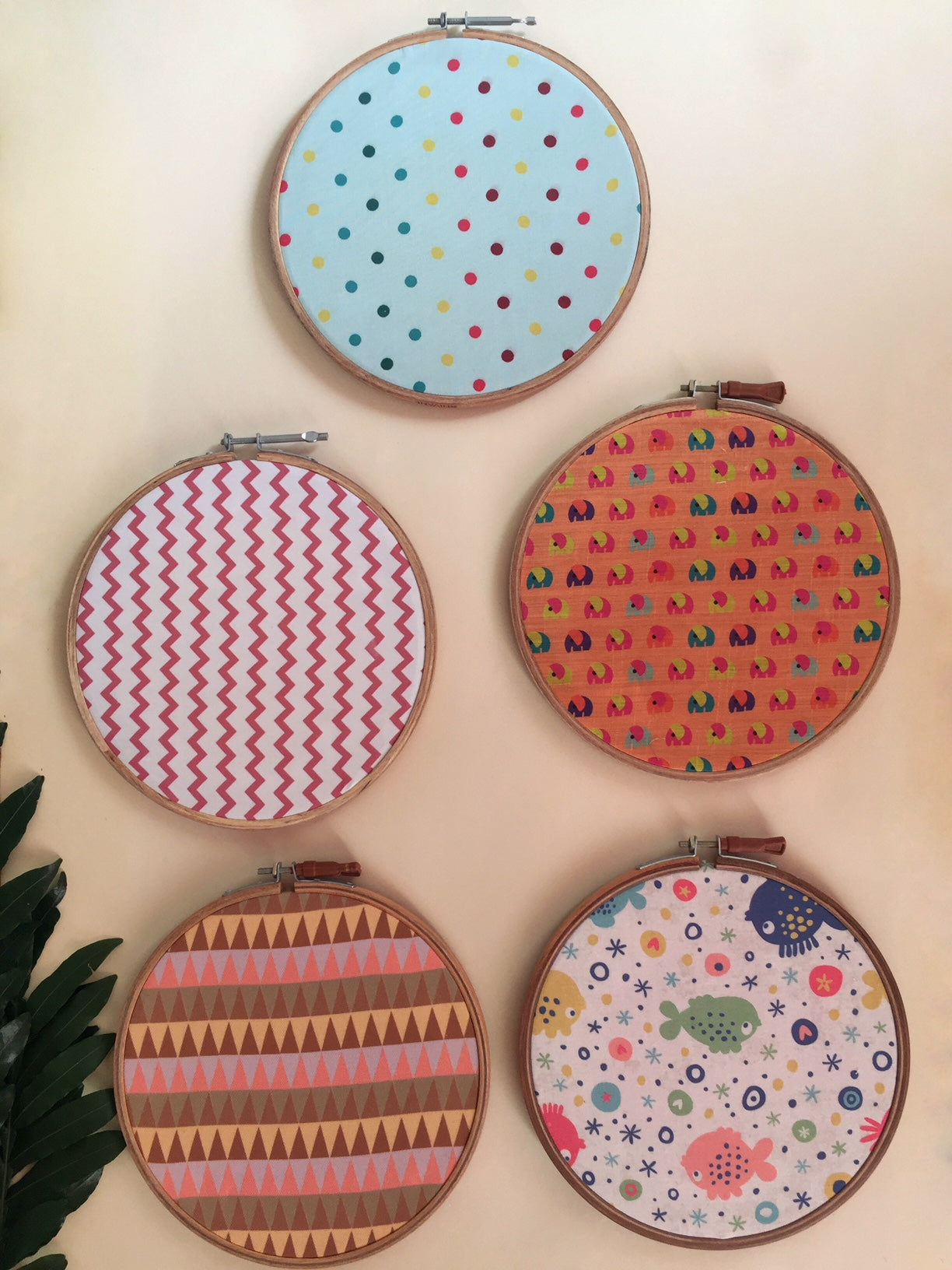 Wall Hanging (Set of 5)