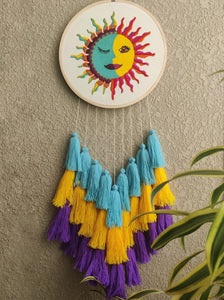 'Sun & Moon' (Hatha) Dreamcatcher