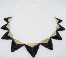 Triangle Statement Necklace - Hollywood