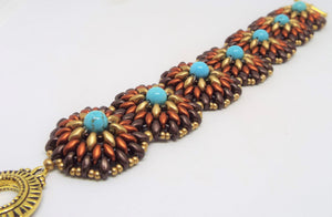Canyon Single Concho Bracelet