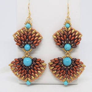Canyon Concho Statement Earrings