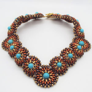 Canyon Concho Statement Necklace