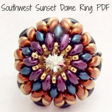 PDF - Southwest Sunset Dome Ring