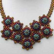Earthen Flower Necklace