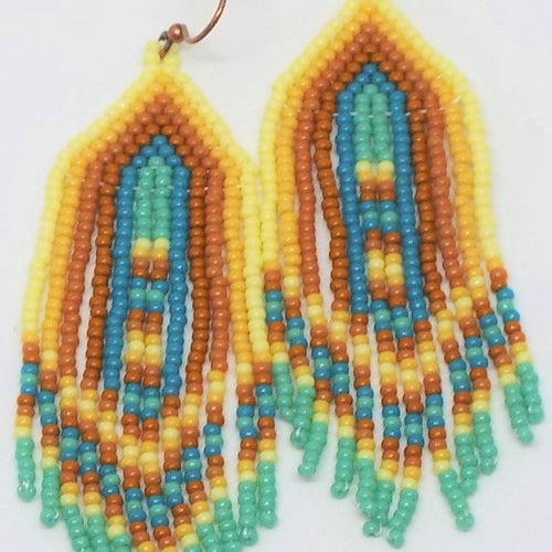 Boho Chic Fringe Earrings - Wild West