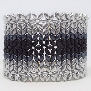 Double Starlight Bracelet - Grayscale, Light