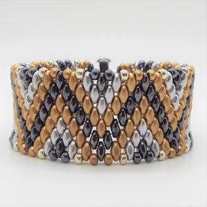 Second Skin Bracelet - Heavy Metal ZigZag
