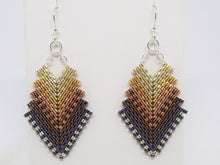 Double Deco Earrings - Metal Drops
