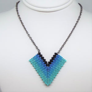 Blue Morpho Necklace