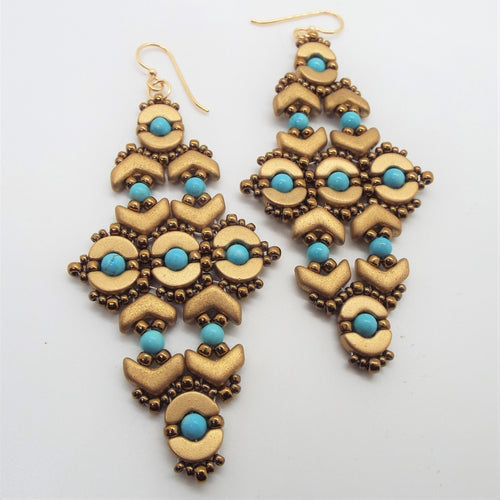 Nefertiti Statement Earrings