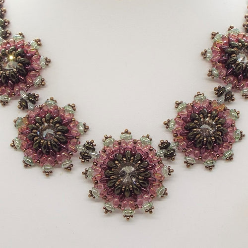 Praire Flower Statement Necklace