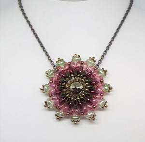 Prairie Concho Pendant Necklace