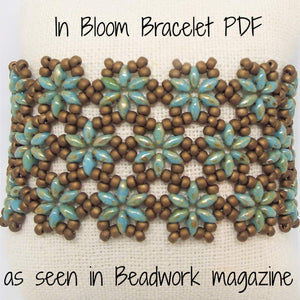 PDF - In Bloom SuperDuo Bracelet