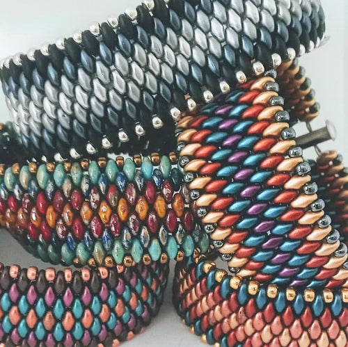 SOLD OUT! Peyote Stitch Bracelet Class @ Legal Draft on 1.13.2019