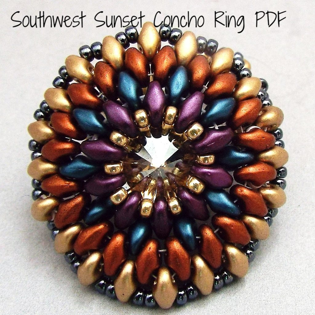 PDF - Southwest Sunset Concho Ring