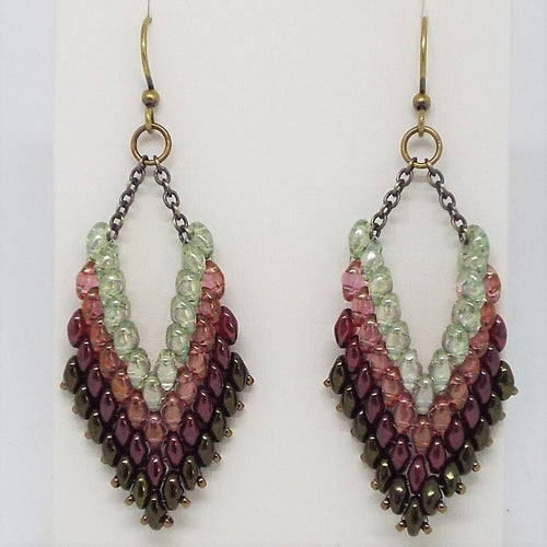 Trapeze Earrings - Prairie