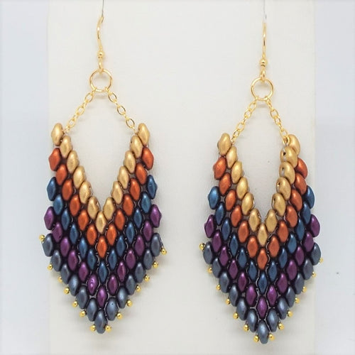 Trapeze Earrings - Southwest