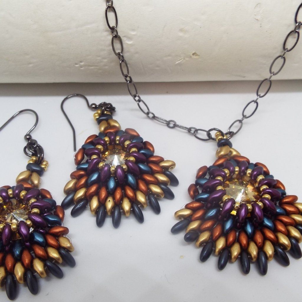 Tucson Vista Pendant/Earrings Class @ Legal Draft on 8.23.2018