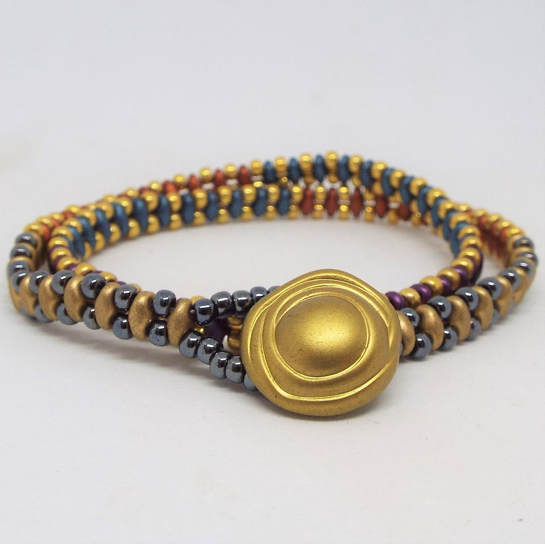Beaded Wrap Bracelet - Southwest