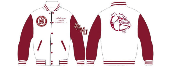 Alabama A&M University Women's Sequins Collegiate Jacket