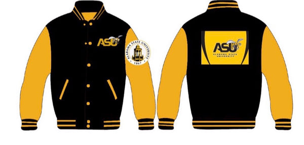 Alabama State University Men's Collegiate Jacket