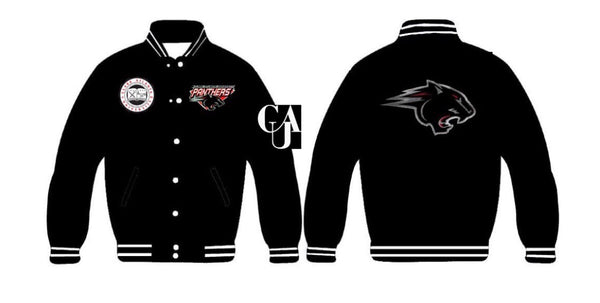 Clark Atlanta University Women's Sequins Collegiate Jacket