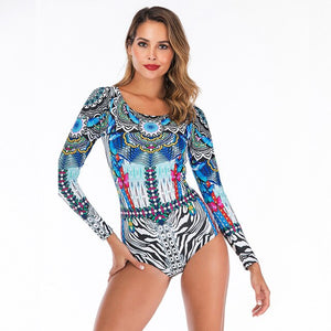 Long Sleeve Bathing Suit Women  Swimsuit Women Rash Guard Full Suit for Swimming Bathing Suit Swimwear Women Rashguard