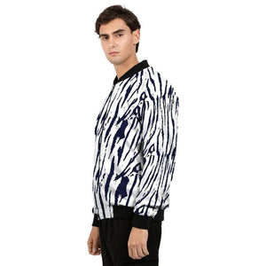 Tiger Print Men's Bomber Jacket - melangebyojo