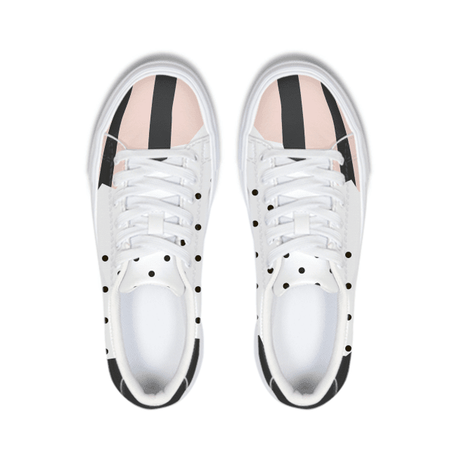 Dots & Stripes Sneaker - melangebyojo