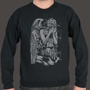 The Angel Weeping Assassin Sweater (Mens) - melangebyojo