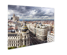 Metal Panel Print, Madrid
