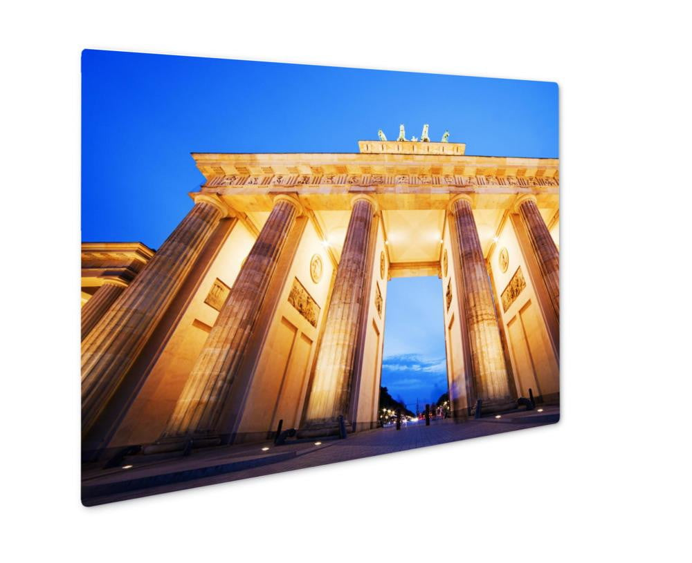 Metal Panel Print, Brandenburg Gate German Brandenburger Tor Berlin Germany