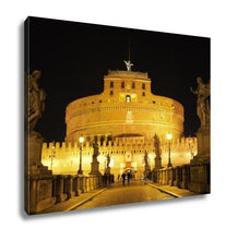 Gallery Wrapped Canvas, Castel Sant Angelo Rome - melangebyojo