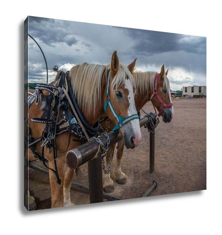 Gallery Wrapped Canvas, Carriage In Grand Canyon In Arizonusa - Mélange Paris