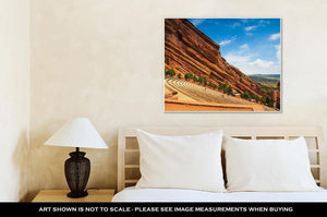 Gallery Wrapped Canvas, Red Rocks Amphitheater - melangebyojo