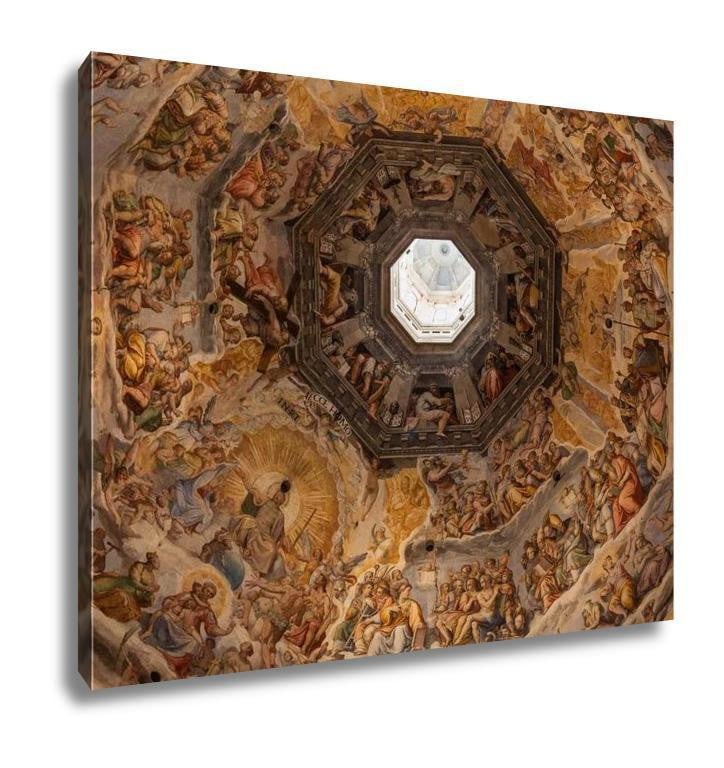 Gallery Wrapped Canvas, Cupola Of Cathedral Of Santa Maria Del Fiore Florence Italy - melangebyojo