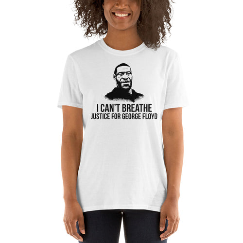 I Can't Breath - Justice For George Floyd Short-Sleeve Unisex T-Shirt