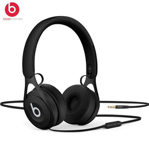 Beats EP 3.5mm Wired Headphones On Ear Headset Stereo Music Earphone Enhanced Bass Line Control with Microphone Noise Isolation