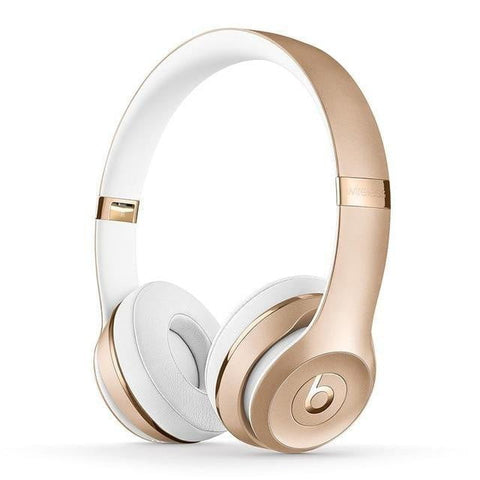 Beats Solo3 Bluetooth Earphone Deep Bass Active Noise Cancelling Wireless Over-ear Headphones with Microphone - Mélange Paris