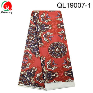 QL19001 DHL-Lycra Lace  star design African women Jersey Lace  Textile Ankara print fFexible for dress Decoration cloth 5yards