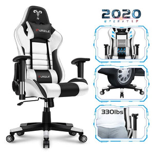 Furgle WCG game computer chair high quality adjustable office chair leather gaming chair black for home office game competitive